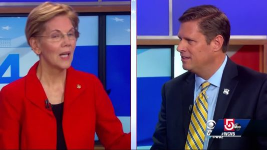 Diehl, Warren spar in first debate