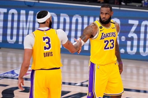 Lakers outlast Nuggets to move win away from NBA Finals