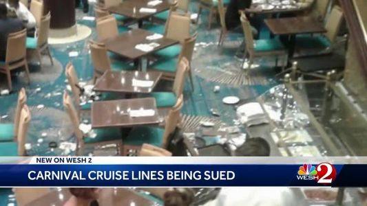 Carnival Cruise Line sued by passengers after ship tilts in October