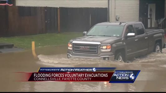 Voluntary evacuation suggested to some Connellsville residents near Yough River Park