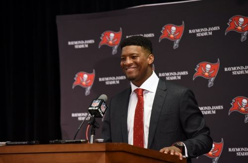 NFL's Jameis Winston denies report that he groped Uber driver