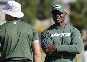 Jets coach Bowles reflects on playing days with Redskins