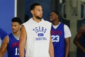 Staying a Sixer: Simmons' fate looms large in Philadelphia