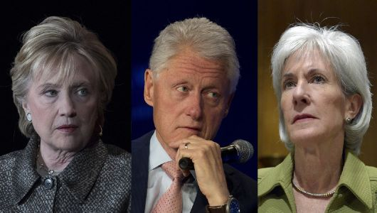 Kathleen Sebelius slams Clintons for attacking women who alleged sexual misconduct