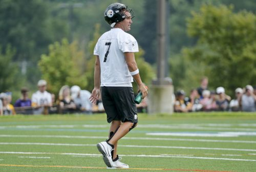 Ben Roethlisberger undergoing evaluation after hit in practice as part of concussion protocol