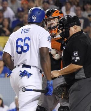 Dodgers' Yasiel Puig suspended 2 games, fined