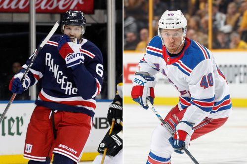 Rangers pull stars out of lineup as trade deadline nears