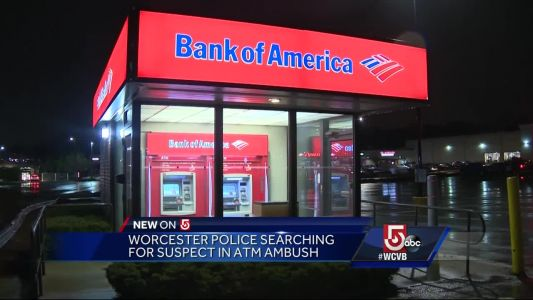Police searching for suspect who ambushed woman at mall ATM