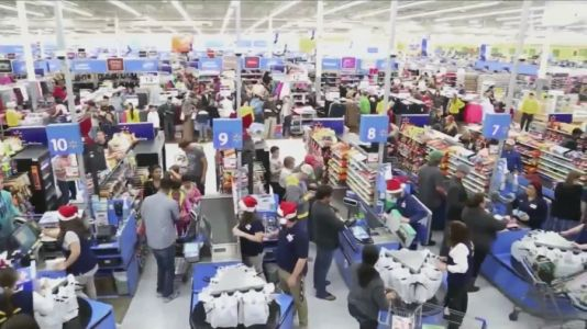 Crowds smaller as pandemic impacts Black Friday shopping