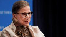 Ruth Bader Ginsburg Hospitalized With Fractured Ribs After Fall