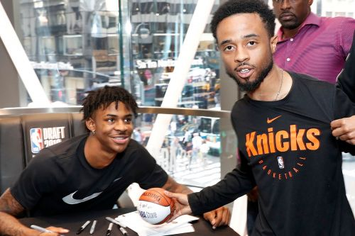 This may be closest Ja Morant gets to the Knicks