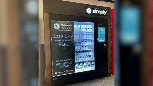Oakland International becomes first airport to have COVID-19 test kit vending machines