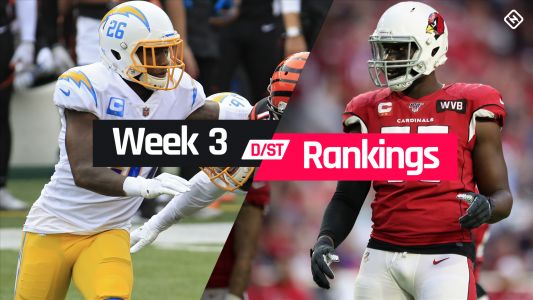 Week 3 Fantasy Defense Rankings: Sleepers, busts, waiver-wire D/ST streamers to target