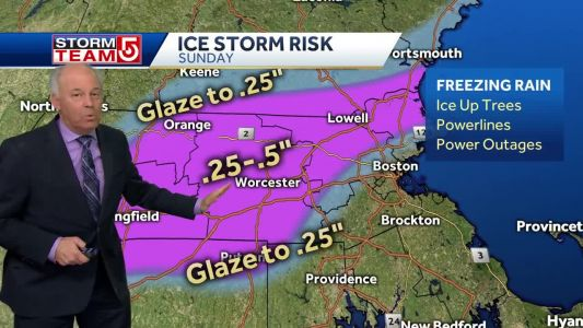 Video: Storm could bring significant ice across much of Mass