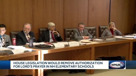 Lawmakers consider repeal of law that allows Lord's Prayer in school