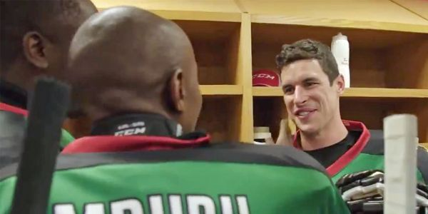 Sidney Crosby and Nathan MacKinnon surprise Kenya's only hockey team for their first-ever game