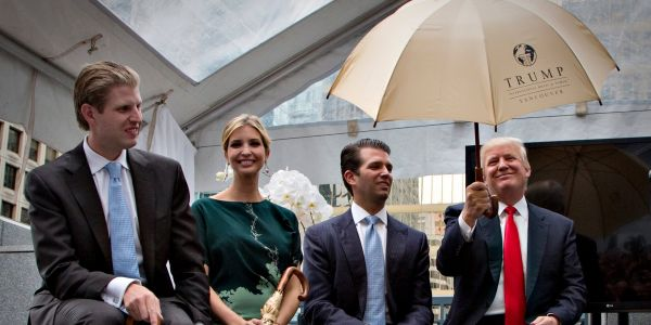 Trump and his adult children agree to dissolve the Trump Foundation charity amid a lawsuit alleging 'persistent illegal conduct'