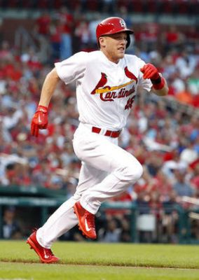 Bader doubles, slides home as Cards top Rockies 3-2 in debut