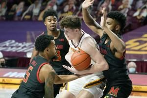 Maryland gets another road upset, 63-49 vs. No. 17 Minnesota
