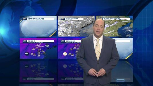 Watch: Winter chill lingers into weekend
