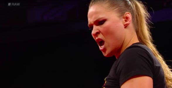 WWE says it has suspended Ronda Rousey for 30 days after she 'attacked' her WWE mentor with a briefcase on live TV