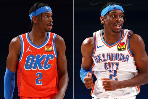 Uniform mix-up can't stop Thunder from beating Hawks