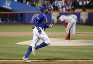 Davis speeds to NY as Mets stun Nationals in 8th for 6-1 win