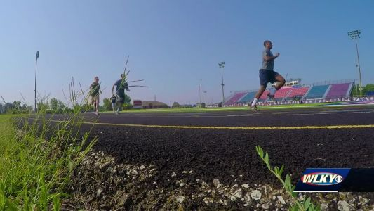 Watch WLKY's Stephon Dingle complete the FBI Fitness Test
