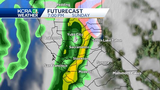 Rain and Snow for Northern California