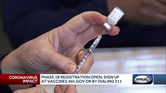 Close to 150,000 Granite Staters sign up for COVID-19 vaccinations