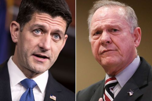 Paul Ryan says Roy Moore should step aside