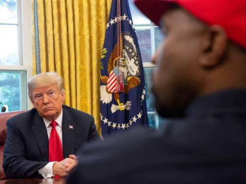 Inside Donald Trump and Kanye West's unlikely friendship