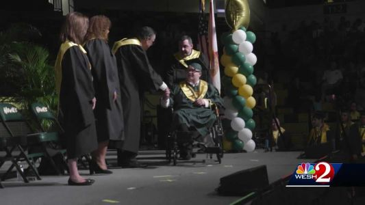 Teen battling chronic disease attends his graduation, thanks to Arnold Palmer Hospital