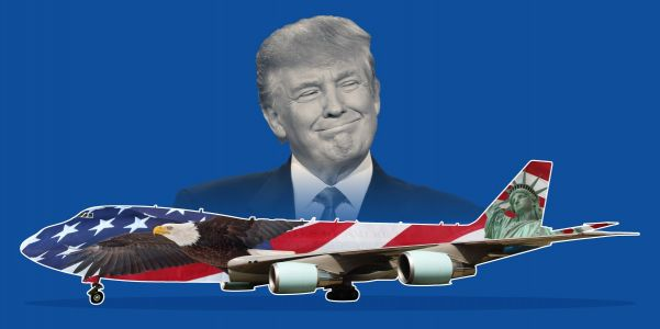 "Trump Wants to Make Air Force One Look ""More American"""
