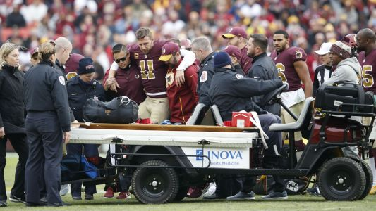 Joe Theismann: Alex Smith leg injury 'heart-wrenching' to watch