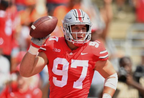 One of the top players in college football to withdraw from Ohio State to focus on the NFL Draft and rehabbing injury