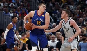 Jokic, Murray lead Nuggets' 108-90 romp of Spurs