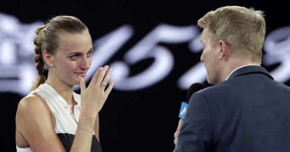 Kvitova back in Grand Slam semis, a 1st in 'second career'