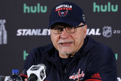 Capitals head coach Barry Trotz resigns