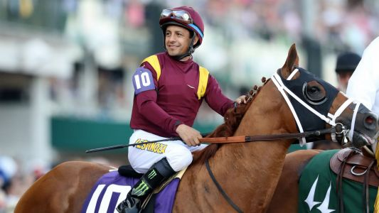 Jockey Victor Espinoza Injured When Horse Dies During Training Workout