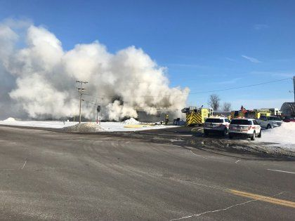 Crews Battling Structure Fire In South Metro