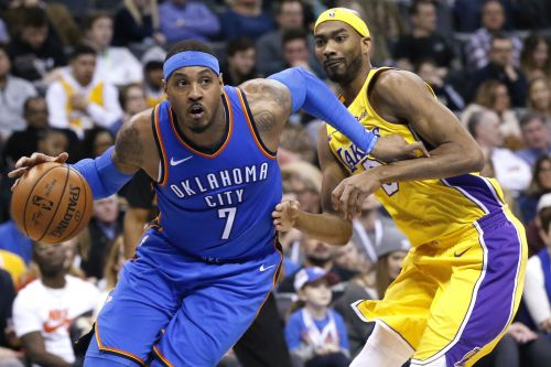 Carmelo Anthony having 'fun again' as Thunder keep rolling