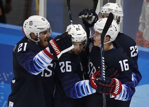 'They're fearless': College players lift U.S. men's hockey into Olympic quarterfinals