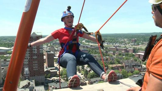 Tuesday, July 23rd: Erin Goes Over the Edge