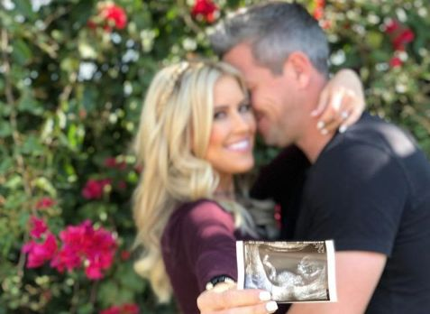 Christina Anstead and Ant Anstead are expecting their first child together