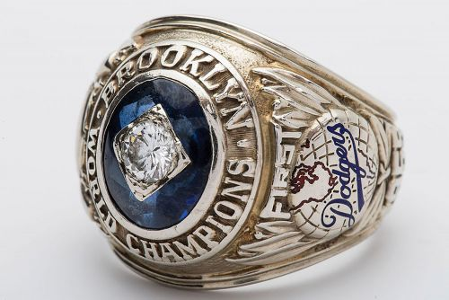 Brooklyn Dodgers World Championship Ring sells for $45K