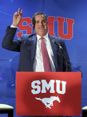 Road leads Sonny Dykes home to Texas and SMU