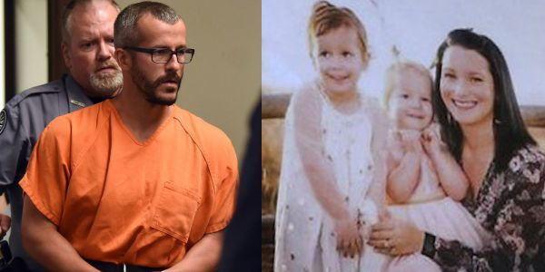 A man charged with murdering his family says he killed his pregnant wife because she strangled their daughters first