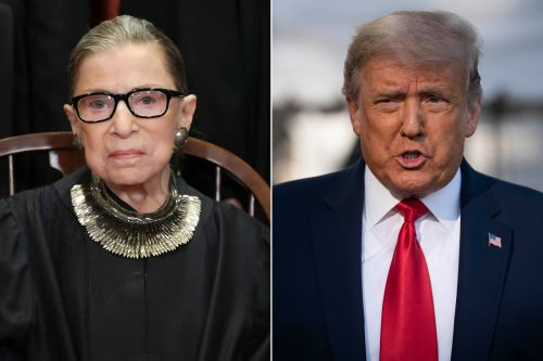 Trump questions Ruth Bader Ginsburg's dying wish about Supreme Court appointment