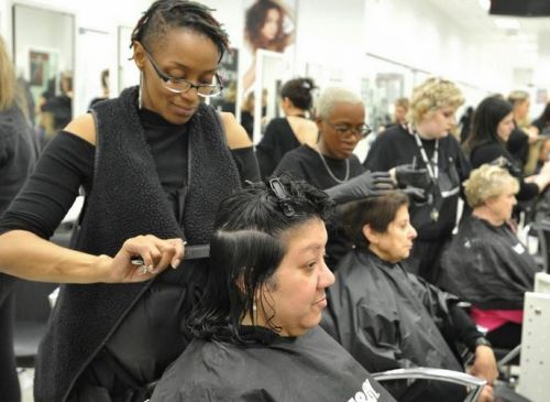Braintree salon school offers haircuts for the homeless